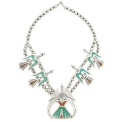 Tommy Singer Water or Peyote Bird Necklace