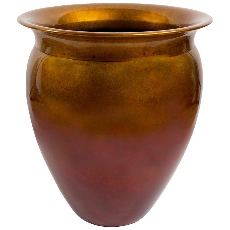 Tommy Zen Massive Ceramic Flower Pot Urn For Sale