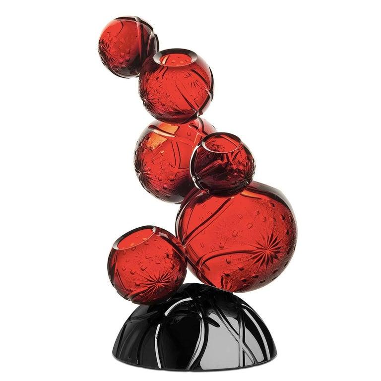 Italian Tondo Doni Rhapsody Vase by Mario Cioni For Sale