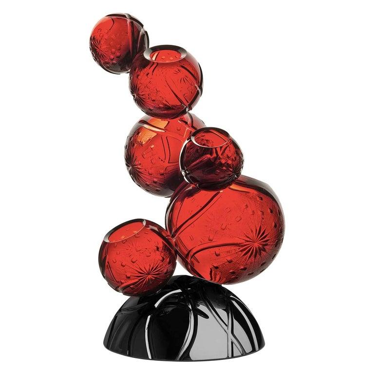 Tondo Doni Rhapsody Vase by Mario Cioni For Sale