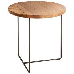 Tondo Tall Side Table by Davide Aquini