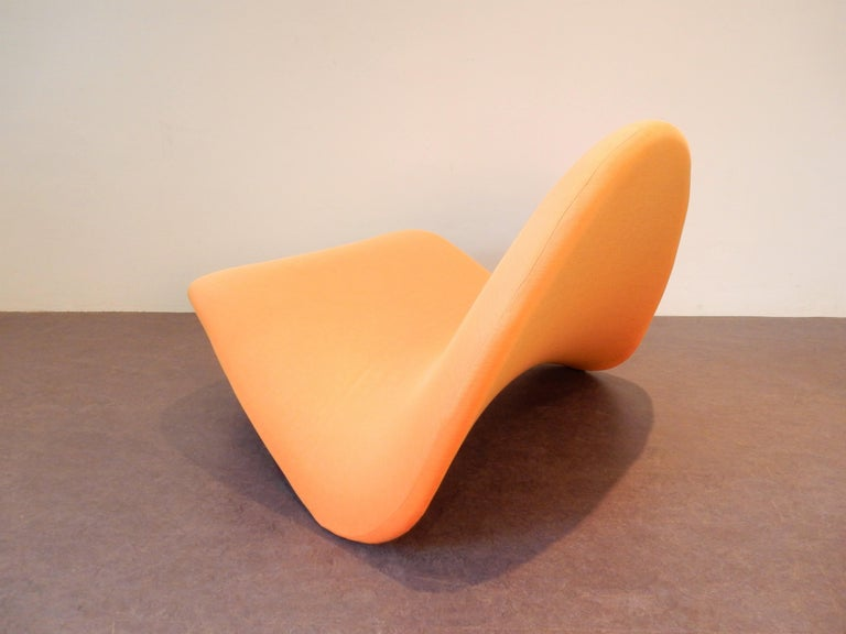 Dutch 'Tongue' Lounge Chair by Pierre Paulin for Artifort, the Netherlands, 1960s