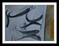 """ La lluita. original neo-expressionist acrylic painting"