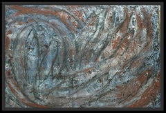 - Bank of fish- Original Neo-expressionist acrylic painting