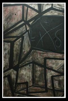 Caixa d´amor- original neo expressionist acrylic painting.