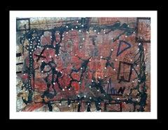 Otoño original neo expressionist acrylic painting