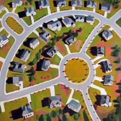 Circular Development, Painting, Oil on Canvas