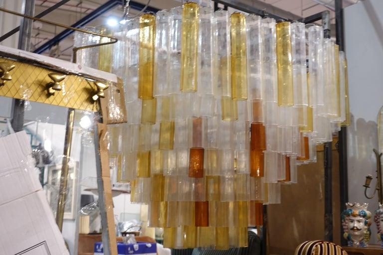 Modern Toni Zuccheri Chandelier for Venini For Sale