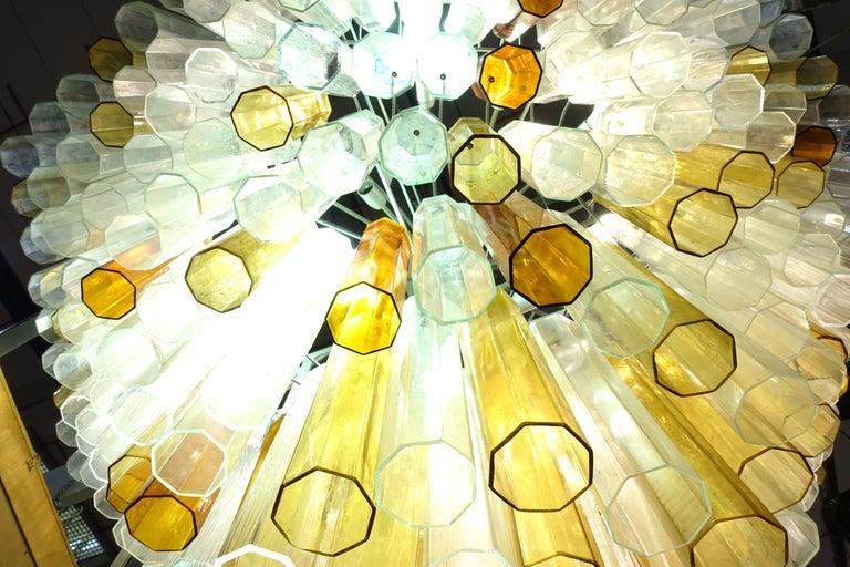 Toni Zuccheri Chandelier for Venini For Sale 2