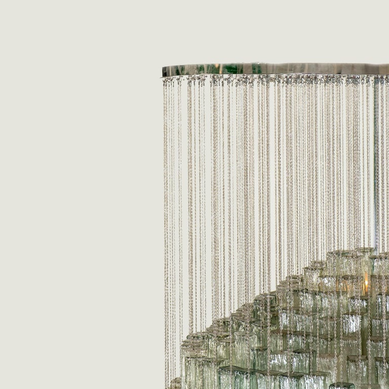Modern Toni Zuccheri for Venini Chandelier For Sale