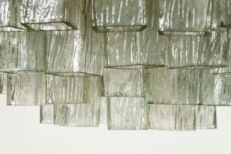 20th Century Toni Zuccheri for Venini Chandelier For Sale