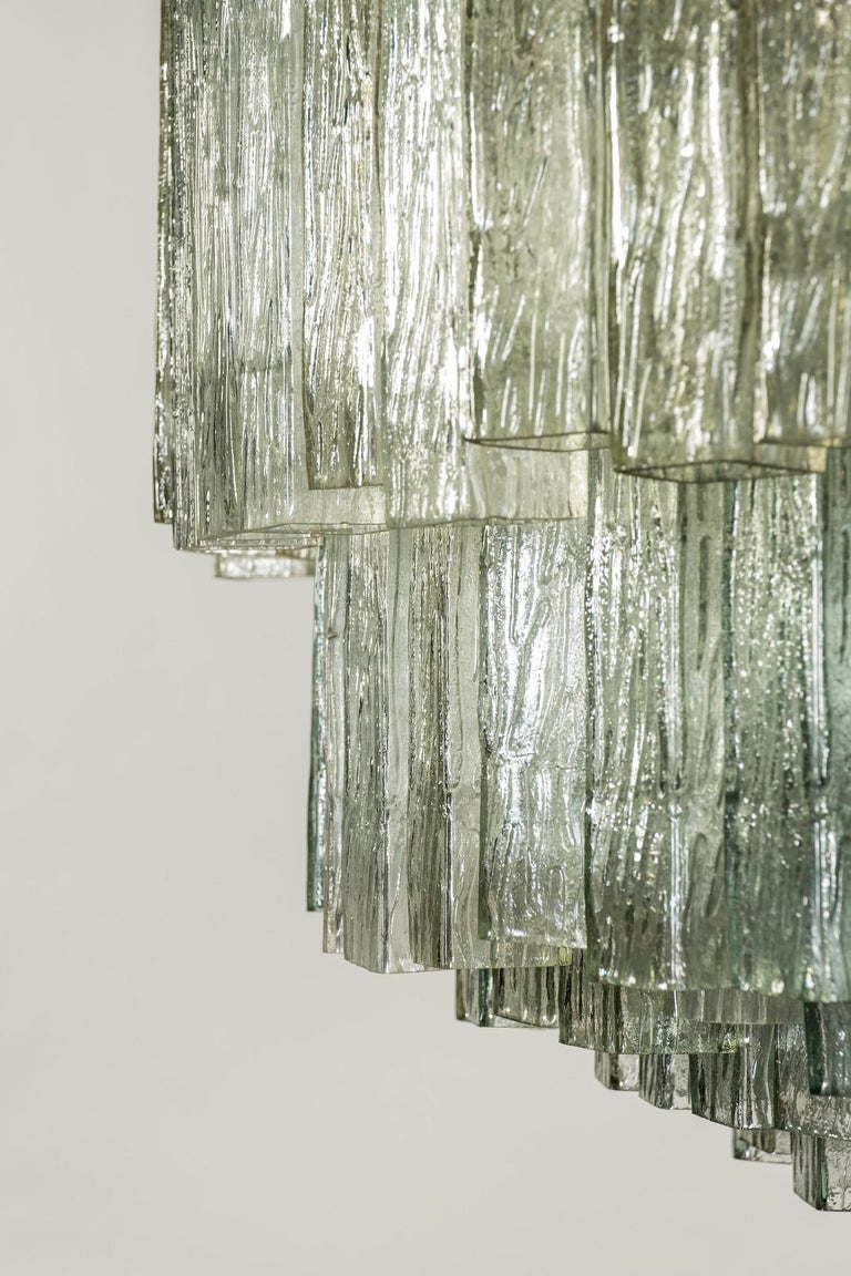 Toni Zuccheri for Venini Chandelier For Sale 1
