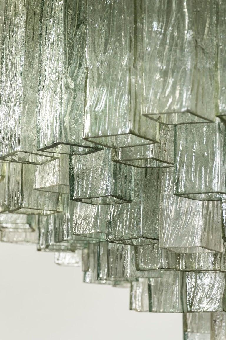 Toni Zuccheri for Venini Chandelier For Sale 2