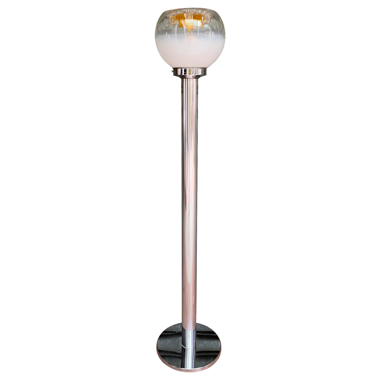 Toni Zuccheri, Murano Glass Floor Lamp, 1970
