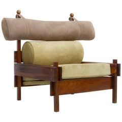 Tonico Armchair in Jacaranda Rosewood, by Sergio Rodrigues, Midcentury Design