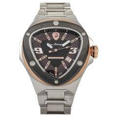 Tonino Lamborghini Spyder Automatic 2.0 Stainless Steel Watch 8855