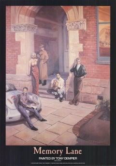 1988 After Tony Dempier 'Memory Lane' Realism  USA