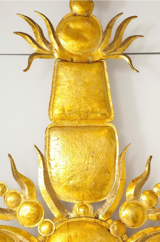 Tony Duquette Iconic 1980s Golden Sculpture For Sale 5