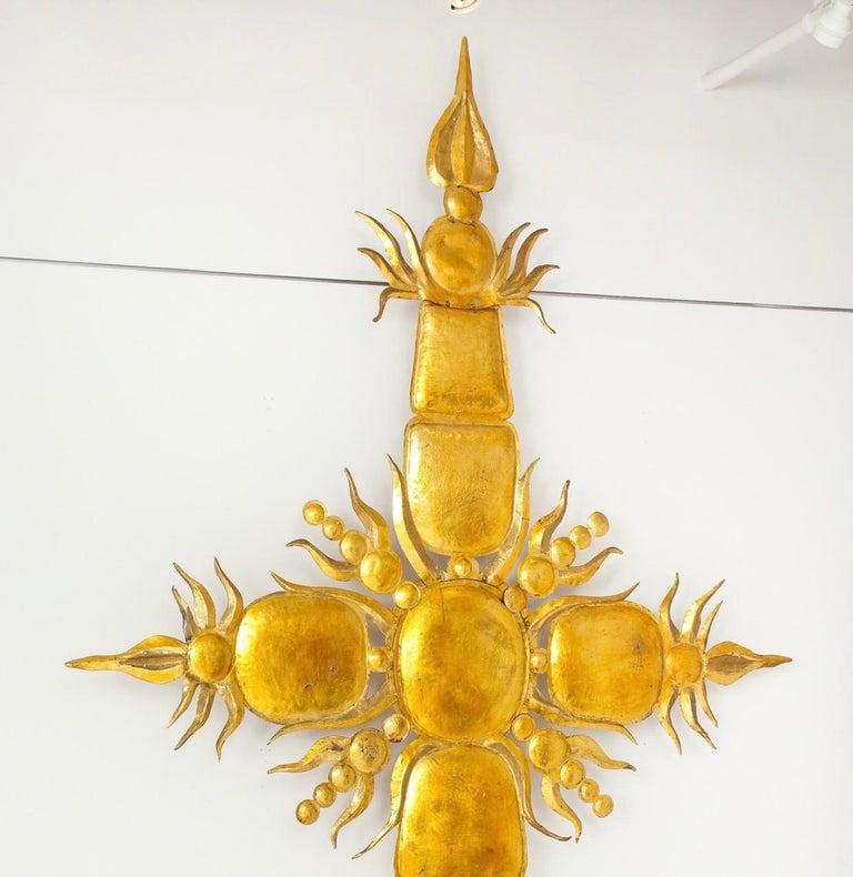 Tony Duquette Iconic 1980s Golden Sculpture For Sale 7
