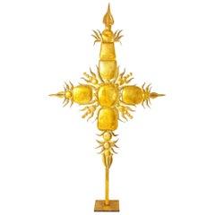 Tony Duquette Iconic 1980s Golden Sculpture