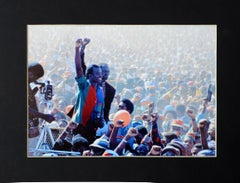 SWAPO Rally, Tony Figueira, Colour photography, Namibia