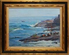 Impressionist View of Lake Erie by Tony Sisti