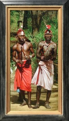 Dancing Samburu Warriors