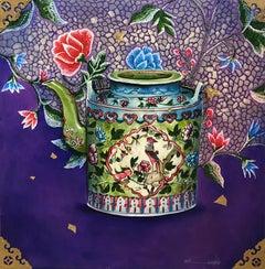 Brilliant #3, Peranakan Baba Nyonya Straits Chinese Kamcheng Porcelain, In Stock