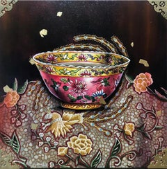 Brilliant #4, Peranakan Baba Nyonya Straits Chinese Kamcheng Porcelain, In Stock