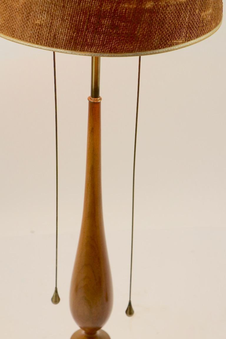 Metal Tony Paul for Westwood Industries Mid Century Table Lamp For Sale