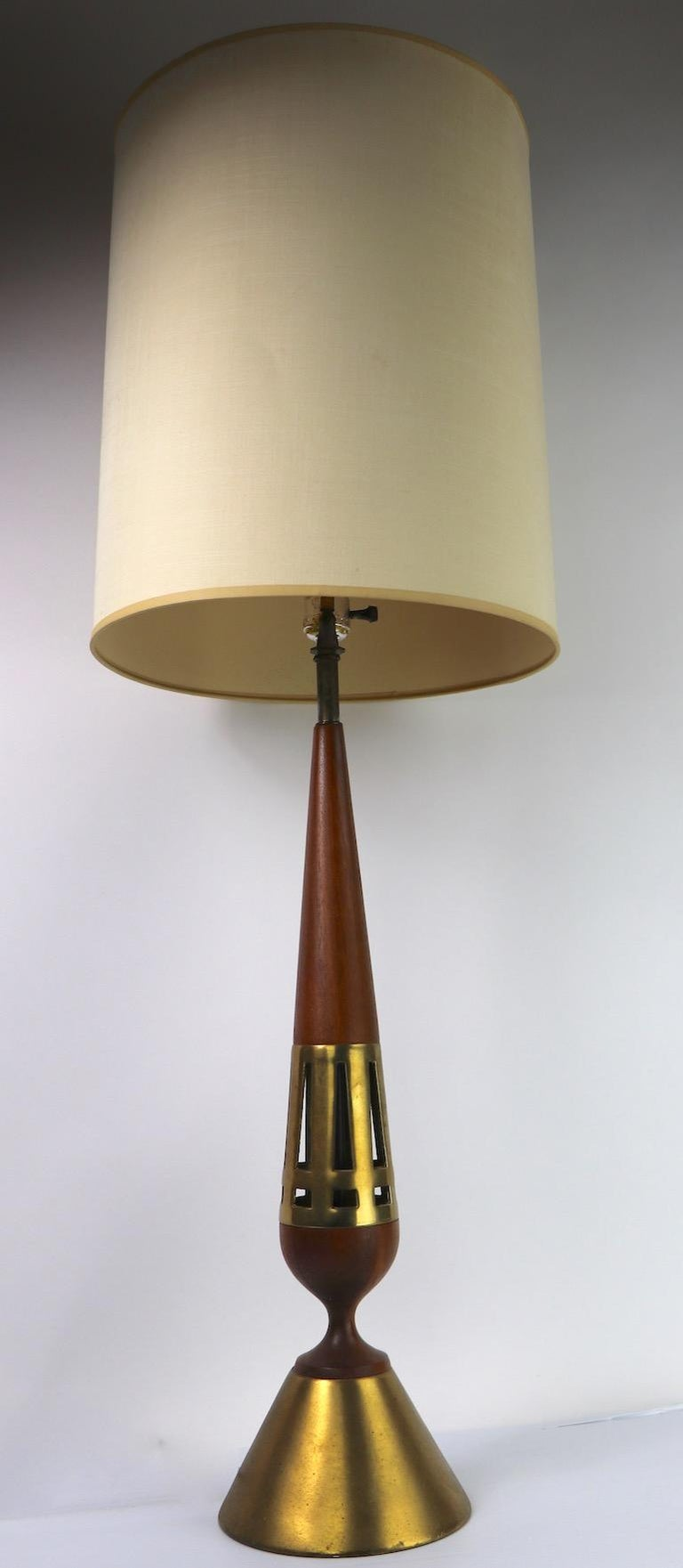 Mid-Century Modern Tony Paul for Westwood Lamp Mid Century  Table Lamp For Sale
