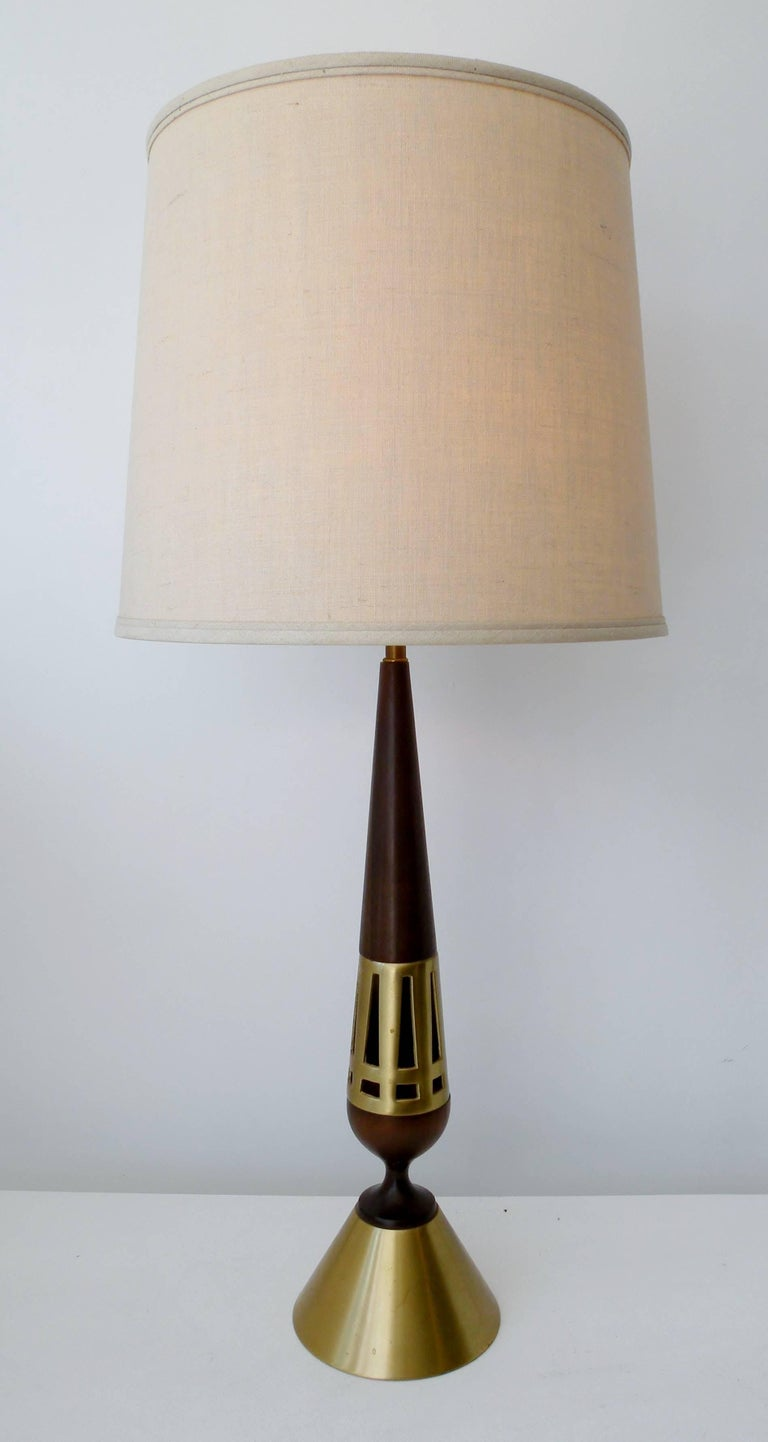 American Tony Paul Pair of Table Lamps for Westwood Lighting For Sale