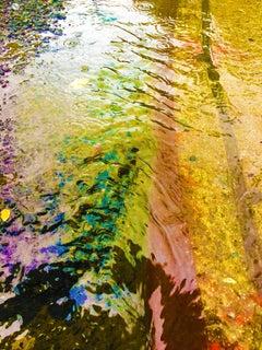 Into The Liquid, Mixed Media on Canvas