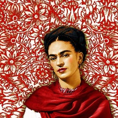 Frida Kahlo 2, Painting, Acrylic on Canvas
