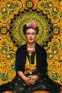 Frida Kahlo 3, Painting, Acrylic on Canvas