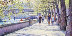 Spring on the Embankment