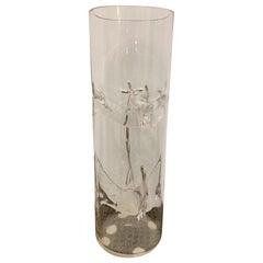 Tony Zucchieri Murano Glass Art Vase