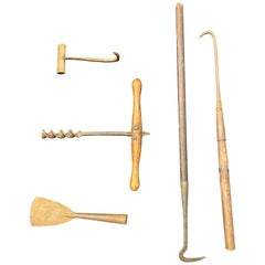 Tools from a 19th Century Waling Vessel