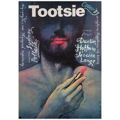 """""""Tootsie"""" Original Polish Film Poster, Wieslaw Walkuski, 1984"""