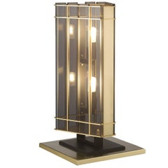 Top Glass Long Table Lamp