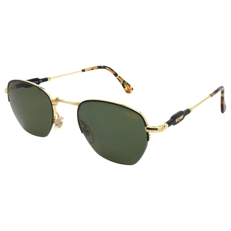 Top Gun® geometrical vintage sunglasses, Italy 90s For Sale