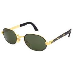 Top Gun® hexagonal vintage sunglasses, ITALY 90s