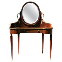 Top Quality French Amboyna Dressing Table