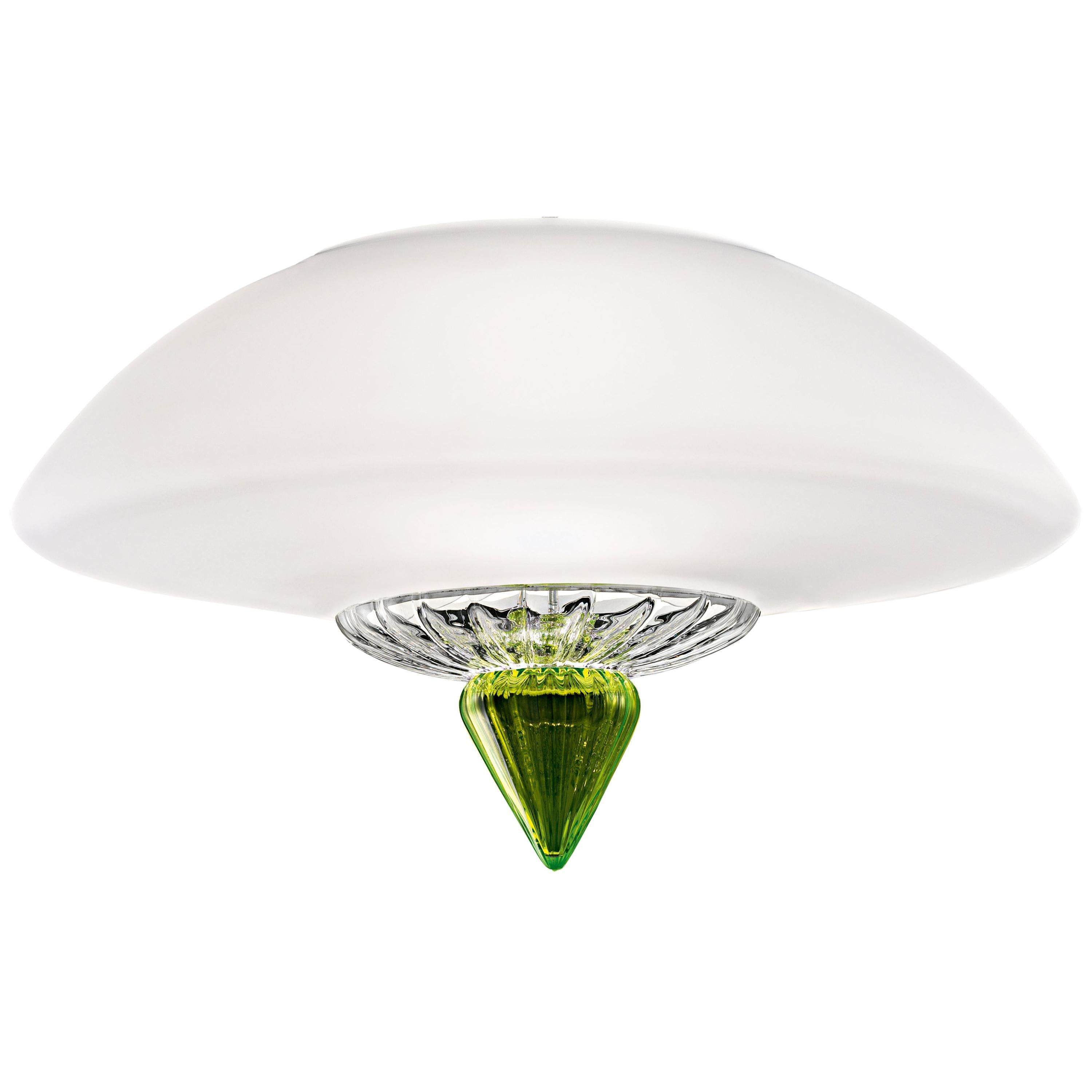 Topkapi 7094 60 Ceiling Lamp in Glass, by Daniela Puppa from Barovier&Toso