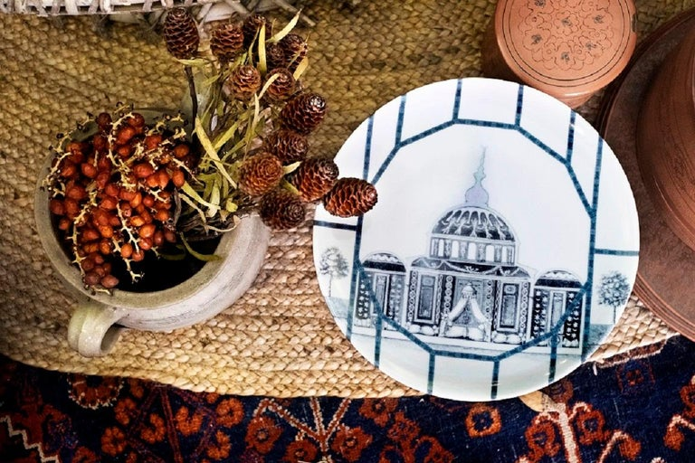 The hidden places of the Ottoman Empire are perfectly represented in this collection  set of 6 dessert plates.