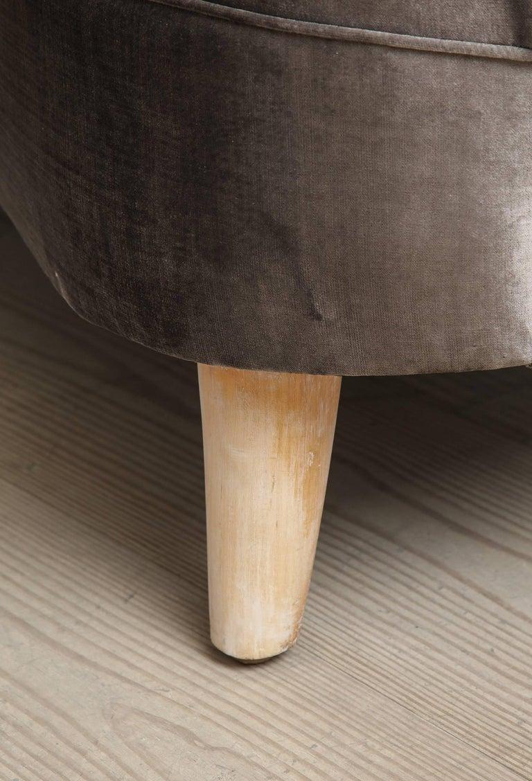 Tor Wolfenstein, Organic Shaped Sofa, Circa 1940, Origin: Sweden For Sale 2