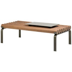 """Toras"" Center Table in Solid Wood, Arthur Casas, Brazilian Contemporary Design"