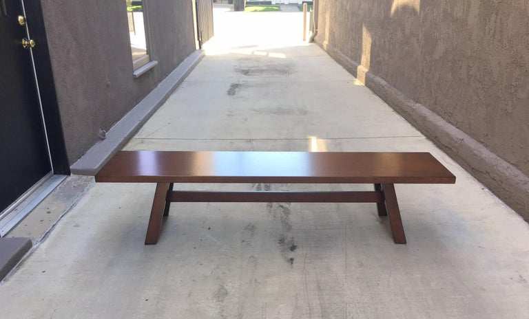 """Mid-20th Century """"Torbecchia"""" Cocktail Table / Bench by Giovanni Michelucci For Sale"""
