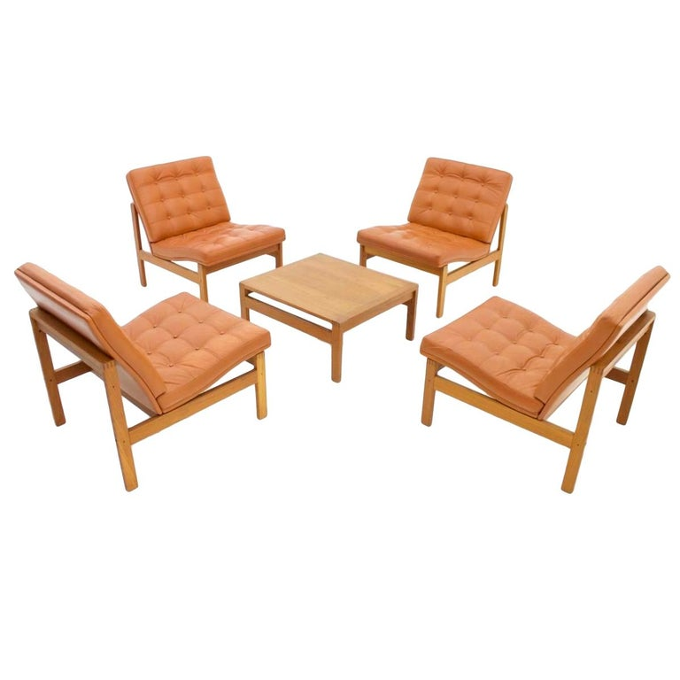 Torben Lind And Ole Gjerlov Modular Seating Group Chairs
