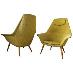 Torbjorn Adfal Butterfly Chairs, a Pair